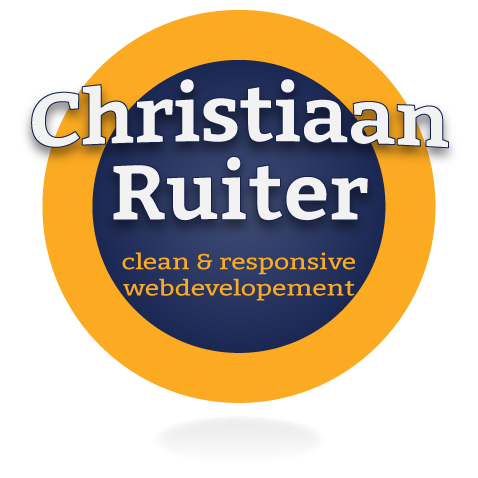 Christiaan Ruiter, clean and responsive webdevelopment